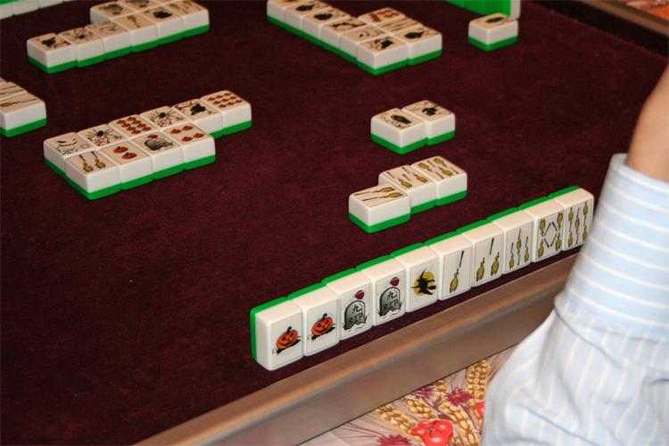 Halloween Mahjong Party ! GspBalai