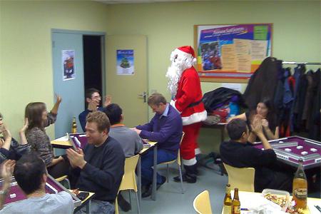 Le père Noël existe, il est passé nous voir ! AuRevoir