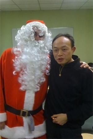 Le père Noël existe, il est passé nous voir ! AvecSimon